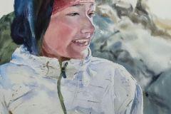 26-Katarzyna-Bukowska-Na-szczycie-Rysy-2019-akwarela-41x31cm