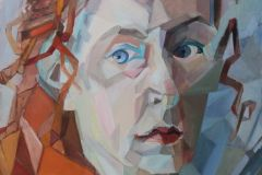 27-Katarzyna-Bukowska-Autoportret-w-stylu-wczesnego-kubizmu-olej-70x50cm