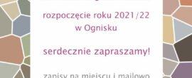 rozpoczęcie roku 2021/22